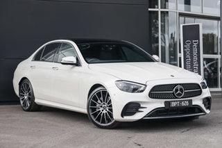 2021 Mercedes-Benz E-Class W213 801+051MY E350 9G-Tronic Designo Diamond White 9 Speed.