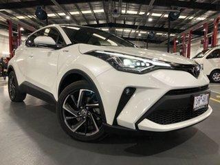 2019 Toyota C-HR NGX50R Koba S-CVT AWD Crystal Pearl 7 Speed Constant Variable Wagon.
