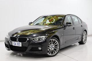 2016 BMW 3 Series F30 LCI 320i M Sport Black 8 Speed Sports Automatic Sedan.