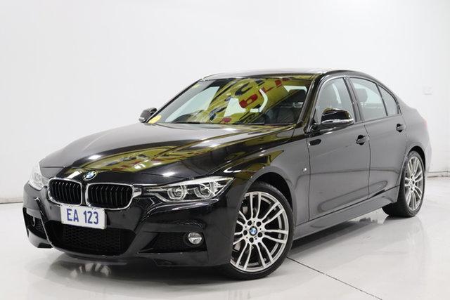 Used BMW 3 Series F30 LCI 320i M Sport Brooklyn, 2016 BMW 3 Series F30 LCI 320i M Sport Black 8 Speed Sports Automatic Sedan