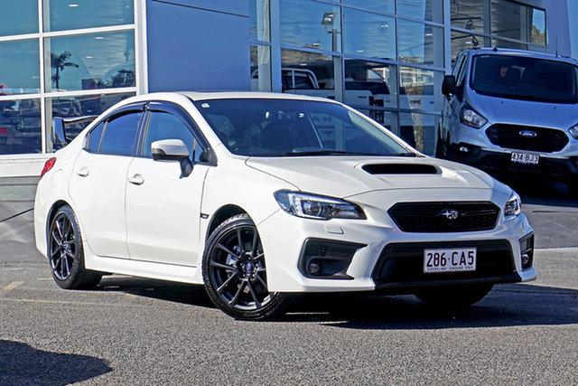 Used Subaru WRX V1 MY21 Premium AWD Springwood, 2020 Subaru WRX V1 MY21 Premium AWD White 6 Speed Manual Sedan