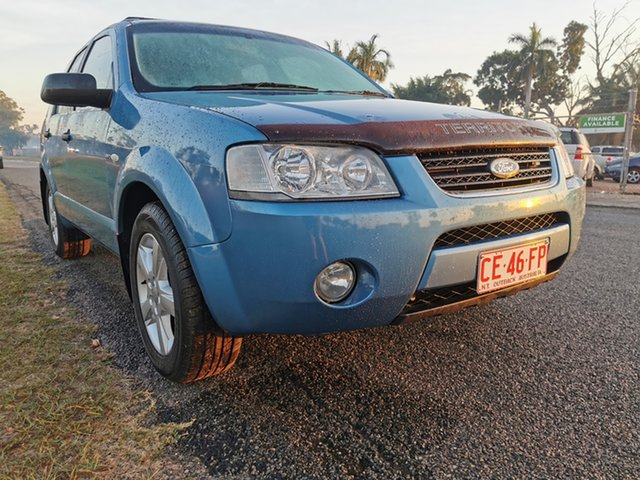 Used Ford Territory SX TS AWD Pinelands, 2005 Ford Territory SX TS AWD Blue 4 Speed Sports Automatic Wagon
