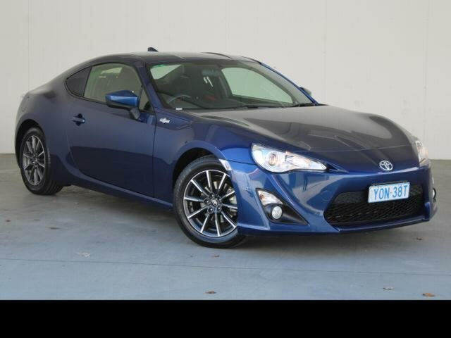 Used Toyota 86 ZN6 MY14 Upgrade GT Fyshwick, 2014 Toyota 86 ZN6 MY14 Upgrade GT Sonic Blue 6 Speed Manual Coupe