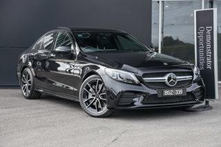 2021 Mercedes-Benz C-Class W205 801MY C43 AMG 9G-Tronic 4MATIC Obsidian Black 9 Speed.