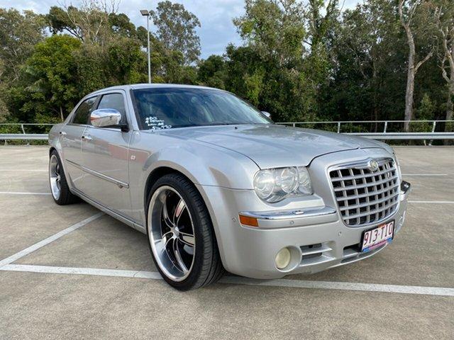 Used Chrysler 300C LE MY08 CRD Morayfield, 2008 Chrysler 300C LE MY08 CRD Silver 5 Speed Automatic Sedan