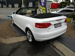 2010 Audi A3 118 TFSI Attraction White 4 Speed Automatic Convertible