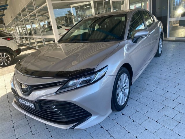 Used Toyota Camry Ascent Taree, 2019 Toyota Camry Ascent Silver Sports Automatic Sedan