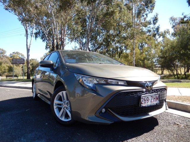 Pre-Owned Toyota Corolla Mzea12R SX Dalby, 2018 Toyota Corolla Mzea12R SX Oxide Bronze Continuous Variable Hatchback