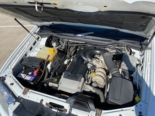 2010 Ford Territory SY MkII Ghia (RWD) White 4 Speed Auto Seq Sportshift Wagon
