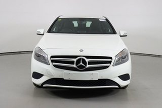 2014 Mercedes-Benz A180 176 MY14 BE White 7 Speed Automatic Hatchback.