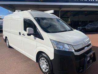 2020 Toyota HiAce White Campervan.