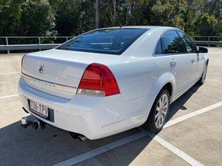 2007 Holden Statesman WM V8 White 6 Speed Auto Active Sequential Sedan.