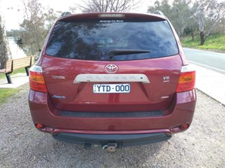 2010 Toyota Kluger GSU45R Altitude AWD Red 5 Speed Sports Automatic Wagon
