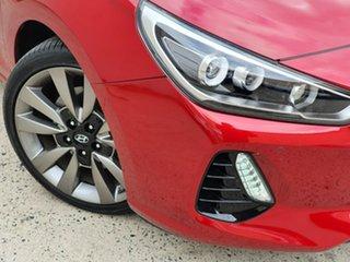2017 Hyundai i30 PD MY18 SR D-CT Premium Red 7 Speed Sports Automatic Dual Clutch Hatchback.