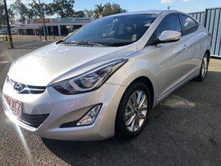 2015 Hyundai Elantra MD3 SE Silver 6 Speed Sports Automatic Sedan