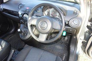 2011 Mazda 2 DE10Y1 MY10 Neo Grey 5 Speed Manual Hatchback