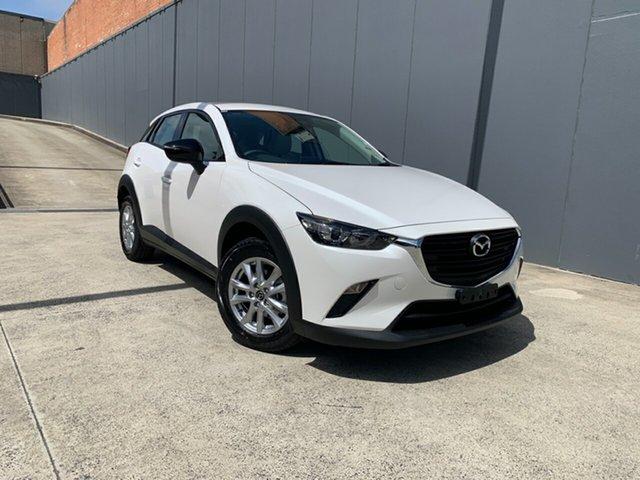 New Mazda CX-3 DK2W7A Maxx SKYACTIV-Drive FWD Sport LE Alexandria, 2021 Mazda CX-3 DK2W7A Maxx SKYACTIV-Drive FWD Sport LE Snowflake White 6 Speed Sports Automatic