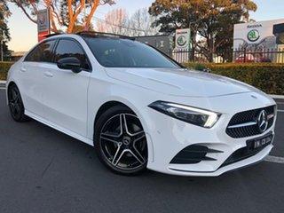 2019 Mercedes-Benz A-Class V177 800MY A200 DCT White 7 Speed Sports Automatic Dual Clutch Sedan.