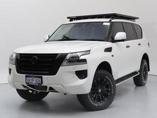 2020 Nissan Patrol Y62 Series 5 MY20 TI (4x4) White 7 Speed Automatic Wagon.