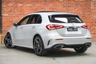 2020 Mercedes-Benz A-Class W177 800+050MY A180 DCT Iridium Silver 7 Speed.