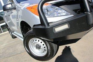 2014 Mazda BT-50 UP0YF1 XT Silver 6 Speed Manual Utility.