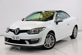 2015 Renault Megane III E95 Phase 2 GT-Line Cpe Cabrio White 6 Speed Constant Variable Convertible.