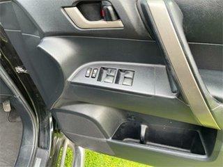2008 Toyota Kluger GSU45R KX-S (4x4) Black 5 Speed 5 SP AUTOMATIC Wagon