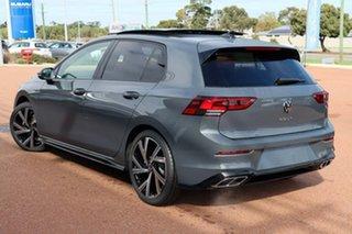 2021 Volkswagen Golf 8 MY21 110TSI R-Line Dolphin Grey 8 Speed Sports Automatic Hatchback.