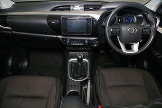 2018 Toyota Hilux GUN126R SR5 Double Cab Crystal Pearl 6 Speed Manual Utility