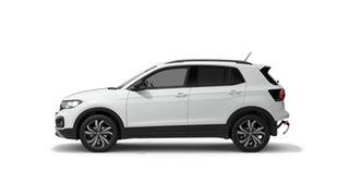 2021 Volkswagen T-Cross C1 85 TSI CityLife (Black) Pure White 7 Speed Semi Auto SUV.