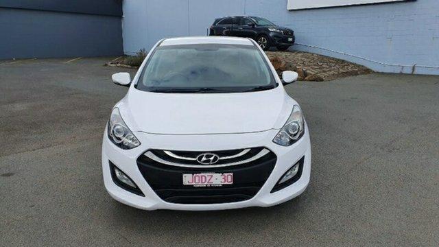 Used Hyundai i30 GD2 MY14 Trophy Melton, 2014 Hyundai i30 GD2 MY14 Trophy White 6 Speed Manual Hatchback