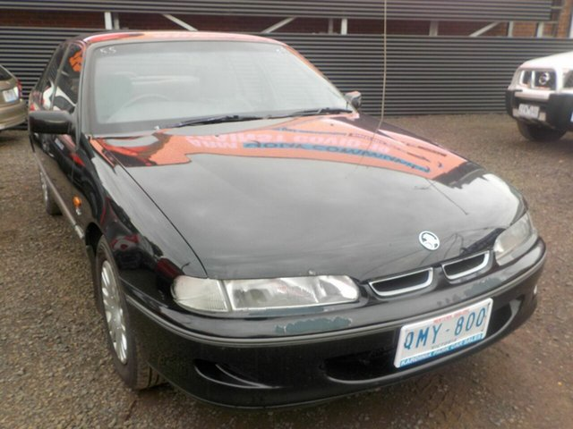 Used Holden Commodore VSII Acclaim Newtown, 1996 Holden Commodore VSII Acclaim Black 4 Speed Automatic Sedan