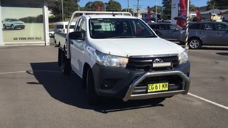 2015 Toyota Hilux TGN121R Workmate 4x2 White 6 Speed Sports Automatic Cab Chassis