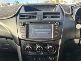 2016 Mazda BT-50 UR0YF1 XTR Silver 6 Speed Manual Utility