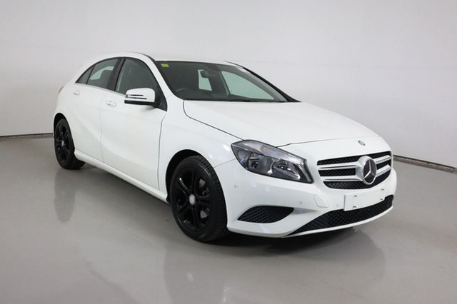 Used Mercedes-Benz A180 176 MY14 BE Bentley, 2014 Mercedes-Benz A180 176 MY14 BE White 7 Speed Automatic Hatchback