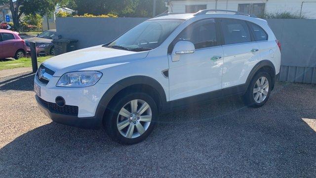 Used Holden Captiva LX Rockhampton, 2010 Holden Captiva LX White 5 Speed Automatic Wagon