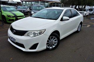2011 Toyota Camry ACV40R Altise White 5 Speed Automatic Sedan.