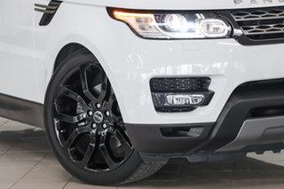 2016 Land Rover Range Rover Sport L494 16.5MY SE Fuji White 8 Speed Sports Automatic Wagon