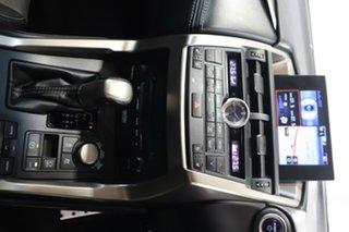 2015 Lexus NX AYZ15R NX300h E-CVT AWD F Sport Silver 6 Speed Constant Variable Wagon Hybrid
