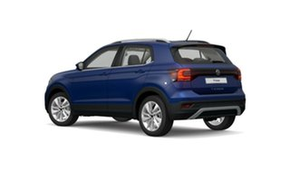 2021 Volkswagen T-Cross C1 MY21 85TSI DSG FWD Style Blue 7 Speed Sports Automatic Dual Clutch Wagon.