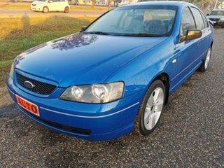2005 Ford Falcon BA Mk II XT Blue 4 Speed Sports Automatic Sedan.