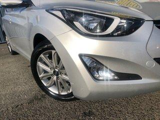2015 Hyundai Elantra MD3 SE Silver 6 Speed Sports Automatic Sedan.
