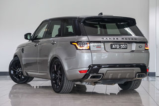 2018 Land Rover Range Rover Sport L494 18MY SDV8 HSE Dynamic Silicon Silver 8 Speed Sports Automatic.