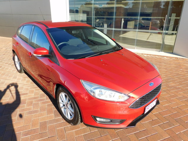 Used Ford Focus LZ Trend Toowoomba, 2017 Ford Focus LZ Trend Red 6 Speed Automatic Hatchback