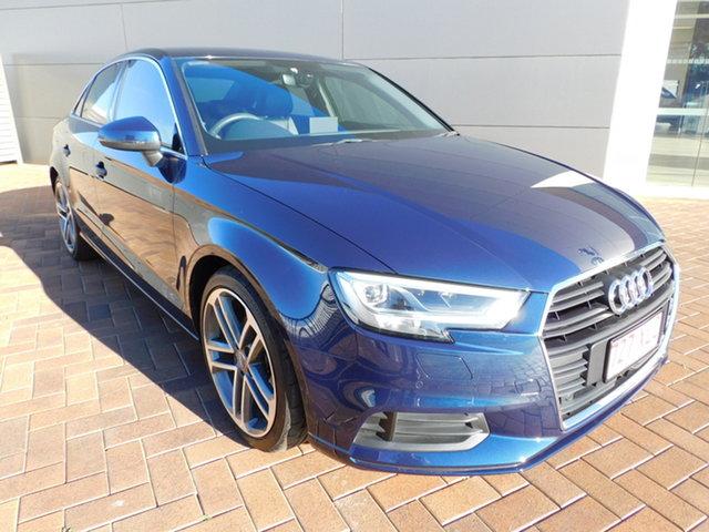 Used Audi A3 8V MY17 S Tronic Toowoomba, 2017 Audi A3 8V MY17 S Tronic Cosmosbluelxe 7 Speed Sports Automatic Dual Clutch Sedan