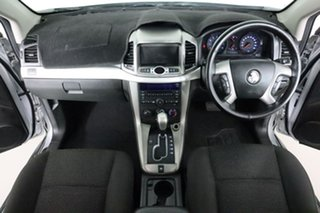 2012 Holden Captiva CG Series II 7 SX (FWD) Silver 6 Speed Automatic Wagon