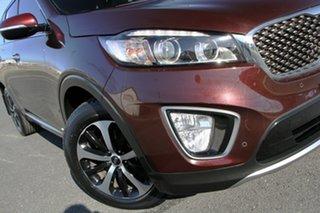 2017 Kia Sorento UM MY17 SLi (4x4) Burgundy 6 Speed Automatic Wagon.