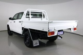 2018 Toyota Hilux GUN126R MY19 SR (4x4) White 6 Speed Automatic Double Cab Chassis