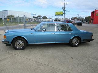 1990 Rolls-Royce Silver Spirit II Blue 3 Speed Automatic Sedan.