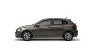 2021 Volkswagen Polo AW Comfortline Limestone Grey 7 Speed Semi Auto Hatchback.